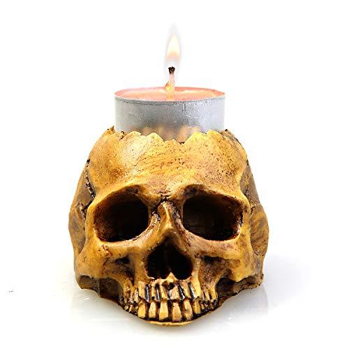 MI CASA tafellamp in de vorm van een doodskop