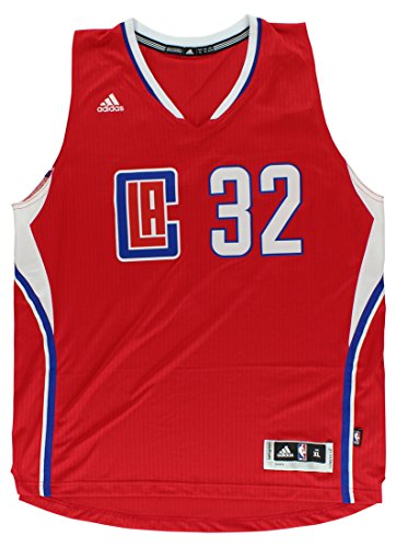 adidas Los Angeles Clippers Blake Griffin Swingman Jersey Red (Large)