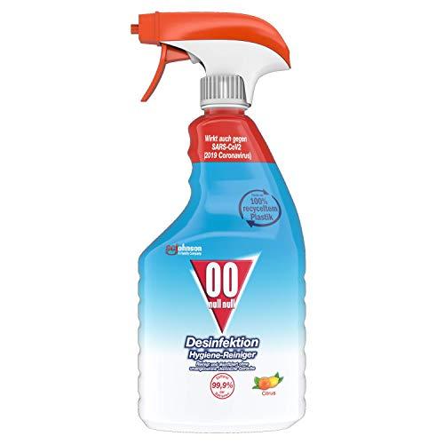 00 null null Desinfektion Citrus - Limpiador desinfectante (6 unidades de 750 ml)