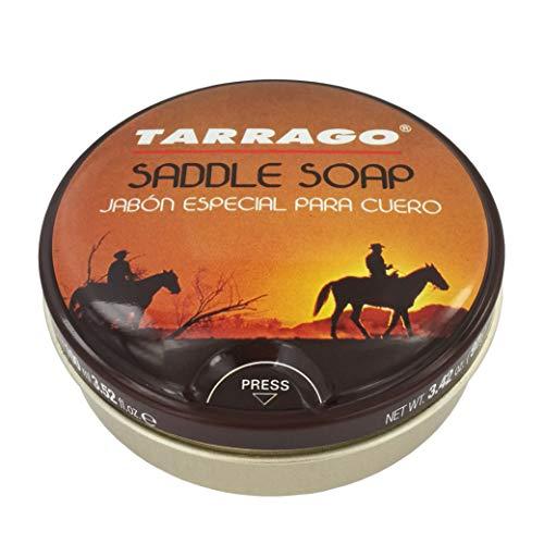 Tarrago | Sattlerei-Lederseife 100 ml | Glattleder-Reiniger, speziell für Sattlerei | Leder-Schuh-Reiniger