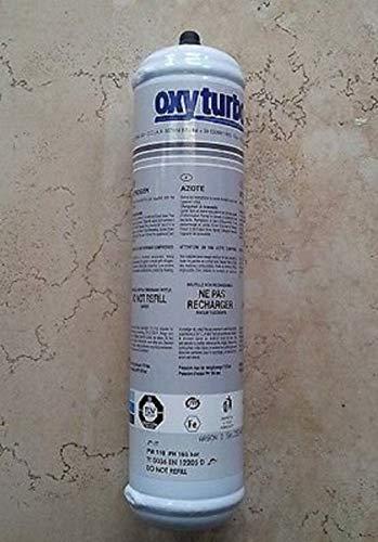 BOMBOLA GAS AZOTO 1Lit NON RICARICABILE OXYTURBO X CONDIZIONATORI E GONFIAGGIO AZOTO INDUSTRIALE