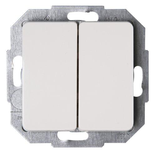 Kopp 618513084 Milano Serienschalter, Weiß