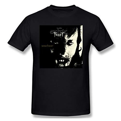Shawnajjarosz Mens Monotheist-Celtic Frost T Shirts Black 6XL with Men's Short Sleeve