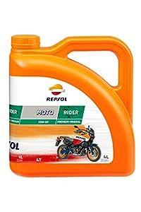 Repsol RP165M54 Moto Rider 4T 15W-50 Aceite de Motor, 4 L