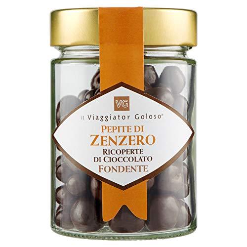 Il Viaggiator Goloso - Zenzero Ricoperto Cioccolato Fondente, 200g