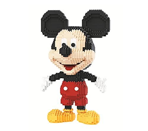BAIDEFENG Disney Mickey Bausteinsatz 3D Puzzle DIY Pädagogisches Spielzeug Ziegel Micro Mini Cartoon Mickey Blöcke Kinder Und Erwachsene