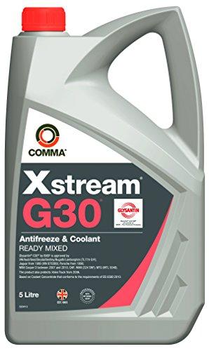 Comma XSM5L Xstream G30 Gefrierschutzmittel und Kühlflüssigkeit gemischt 5L