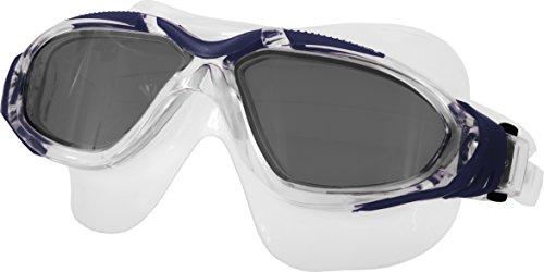 Aqua Speed Bora Occhiali da Nuoto e Immersione (Vetro Sicurezza Antifog UV-Protezione), Couleur:Bleu
