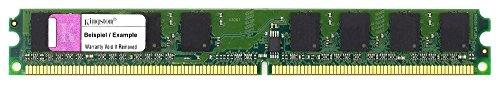 Kingston MTXtec KTD-DM8400/1G - Memoria RAM DDR2 (1 GB, PC2-3200U, 400 MHz, CL3, perfil bajo)
