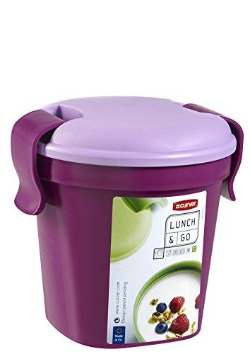 Curver 225060 Kunststoff-Trinkbecher, 10,7 x 12 x 11 cm, lila