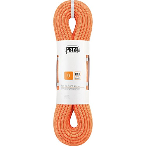 PETZL–Volta Guide, Corda multitipo 9,0mm UIAA Dry. 30m