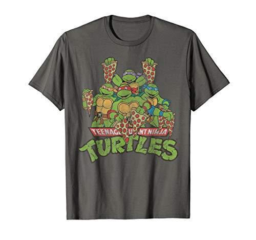 Teenage Mutant Ninja Turtles Multiple Smiles & Slices Tee