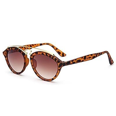 PyLios Ladies Sunglasses Women Brand Designer Double Bridge GATSBY Style Sun Glasses Mirror Oculos De Sol