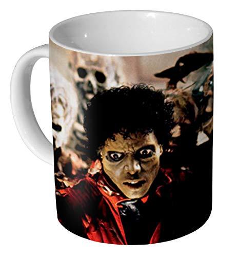 Michael Jackson Thriller Keramik-Kaffeetasse