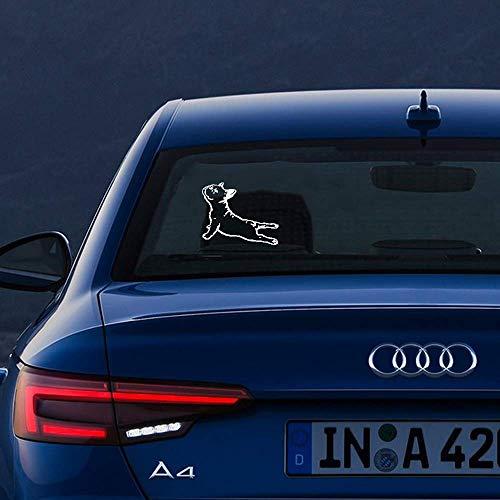 Pegatinas De Animales Para Coches 12Cm X 11Cm Pegatina Divertida Pegatina Bulldog Frances Carinoso Vinilo Envio Gratis Car Styling Car Sticker