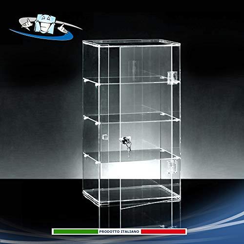 Ripiani in Plexiglass F.to L31 x P25 x 25H cm Circuito AUT AUT Alzate espositive per vetrine