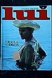 LUI 144 1976 JANVIER LEO FERRE COVER URSULA ANDRESS ENTIEREMENT NUE ROUSSE NUDES PIN-UP ASLAN