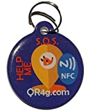 QR4G.com GPS Placa identificativa inteligente para mascotas