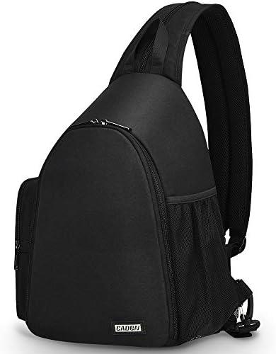 CADeN Camera Bag Sling Backpack Camera Case Backpack with Tripod Holder for DSLR SLR Mirrorless product image
