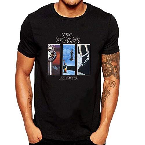 ZOMMING tee Van Der Graaf Generator First Hombre Camiseta Negro/Hombre T Shirts Negro
