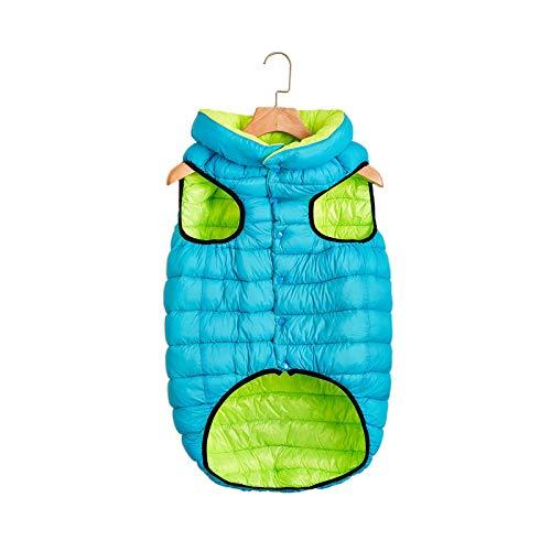 Pet Clothes Abrigo de invierno para perros pequeños sólido impermeable a prueba de viento cálido abrigo suéter sudadera para perro gato Manteau Chien-d-S