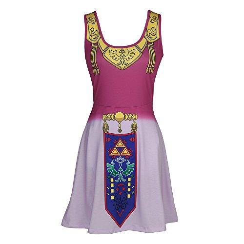 Nintendo The Legend of Zelda Costume Tank Dress (Juniors X-Large)