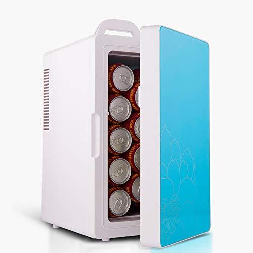 Luqifei Mini Frigo Mini frigo termoelettrico di Raffreddamento e Riscaldamento - 14 Litri - for casa, Ufficio, Auto, dormitorio - Compatto e Portatile Outdoor Caming Picnic Viaggi