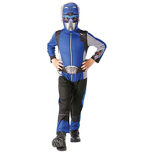 Rubies- Power Rangers déguisement, Garçon, I-300457L, Bleu