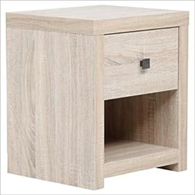 lucentezza adorabile scarpe esclusive materiale selezionato Yaheetech Black Bedside Table with 3 Drawers - Wooden Side ...