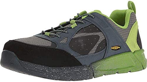 Keen Utility Men's Raleigh AT Industrial and Construction Shoe, Neutral Grey/Greenery, 7 D US