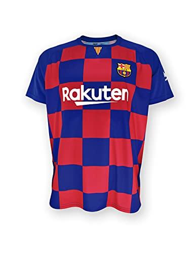 Camiseta 1ª equipación FC. Barcelona 2019-20 - Replica Oficial con Licencia - Dorsal Liso - Adulto Talla L