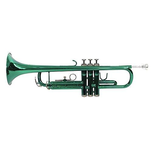 Dimavery 26503120 Bb Trompete, grün