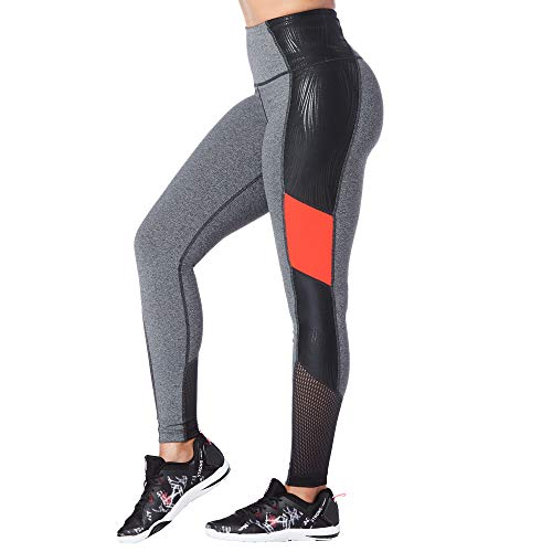 STRONG by Zumba High Waisted Shaping Athletic Ankle Workout Leggings broek