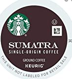 Starbucks Dark Roast K-Cup Coffee Pods — Sumatra for Keurig Brewers — 4 boxes (96 pods total)