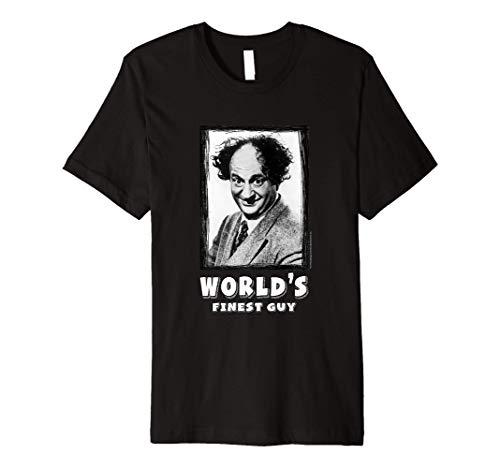 TTS- The Three Stooges Larry: World's Finest Guy Premium T-Shirt