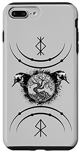 iPhone 7 Plus/8 Plus Yggdrasil Viking Norse Life Tree of Nordic Celtic Mythology Case