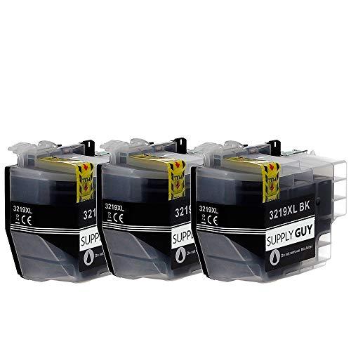 SupplyGuy 3 XL Druckerpatronen kompatibel mit Brother LC3219xl Schwarz für MFC-J5330dw MFC-J5335dw MFC-J5335dwf MFC-J5730dw MFC-J5930dw MFC-J6530dw MFC-J6535dw MFC-J6930dw MFC-J6935dw MFC-J6935dwf