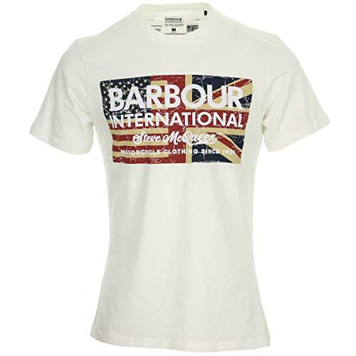 Barbour SMQ Vintage Flag Tee, T-Shirt - XL