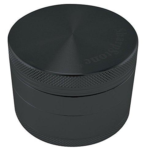 SHARPSTONE HARD TOP GRINDER 4 PIECE 2.5' BLACK PACK OF 1