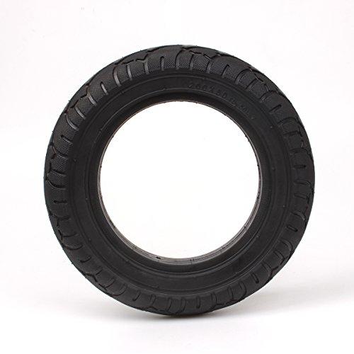 200x50 8'x2' Neumático sin cámara sólido Reemplazo para Scooter Maquinilla de Afeitar E100 E150 E175 E200 2-Ruedas Autoequilibrado Inteligente
