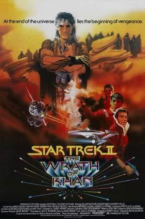 Star Trek 2 II The Wrath of Khan – Film Poster Plakat Drucken Bild – 43.2 x 60.7cm Größe Grösse Filmplakat