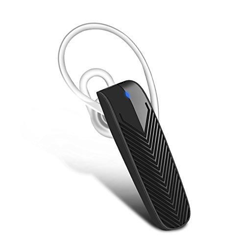 aokii Bluetooth Headset Wireless ergonómico Auriculares In-Ear v4.1Ruido Aislamiento Mini estéreo de Auriculares con micrófono