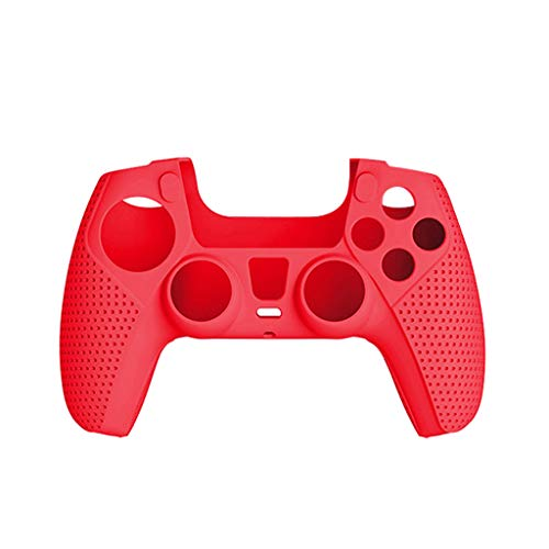 YU-NIYUT Non-Slip Silicone Protective Cover Case Compatible Gamepad PS5 Controller Skins Useful Gadgets Durable and Practical
