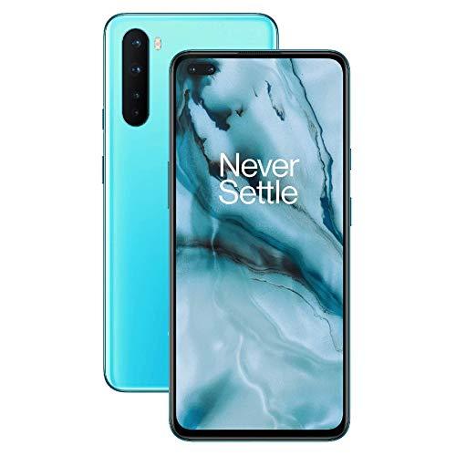 OnePlus Nord 5G - Smartphone 128GB, 8GB RAM, Dual Sim, Blue Marble