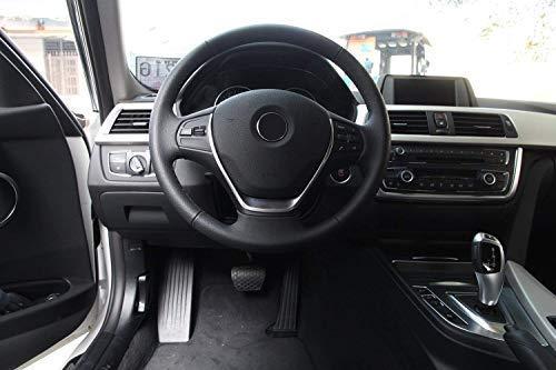Cubierta del volante cromado ABS para 3 series f30 2013-2017
