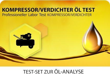 Öl Test für Kompressoren und Verdichter