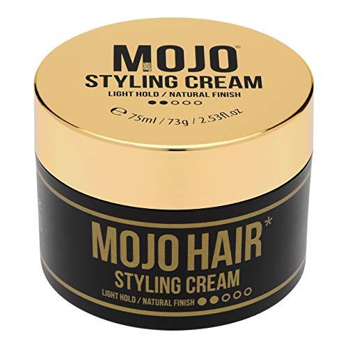 MOJO Hair Styling Cream | Light Hold Natural Matte Finish | Hair Cream for...