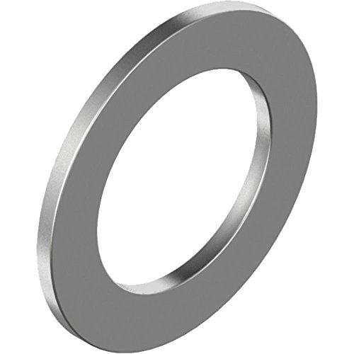 100 Stück Paßscheiben DIN 988 - Edelstahl A2 dxd2xh = 15x 21x 0,5