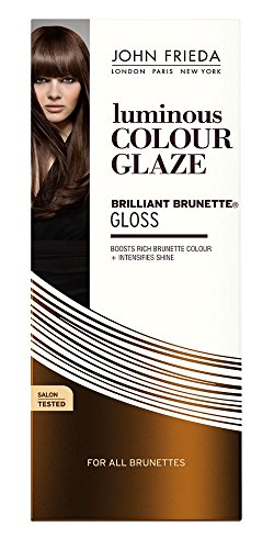 John Frieda Brilliant Brunette Luminous Color Glaze, 6.5 Ounce