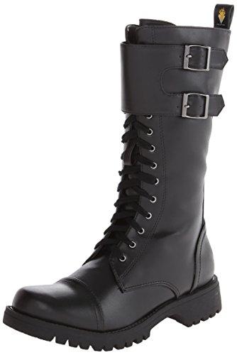Volatile Women's Tank Boot,Black,9 B US